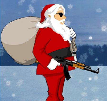 Санта против зомби 2 онлайн игра