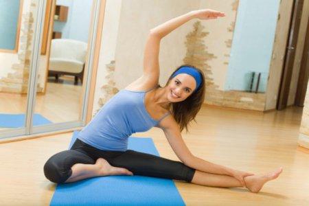 Женский фитнес. Упражнения для похудения.