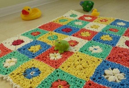 Рукоделие для дома: делаем коврик своими руками