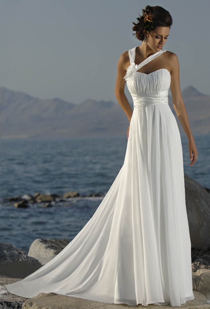Образ на свадьбу в греческом стиле