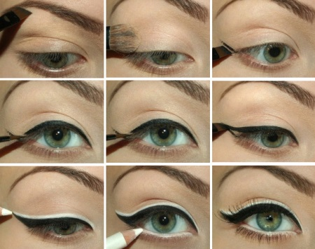 Как сделать макияж для зеленых глаз