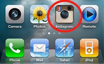 Как с телефона добавить фото в Инстаграм