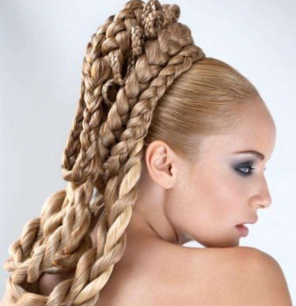 Экстремальные цвета красок для волос