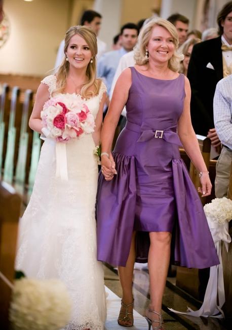 На свадьбе про маму