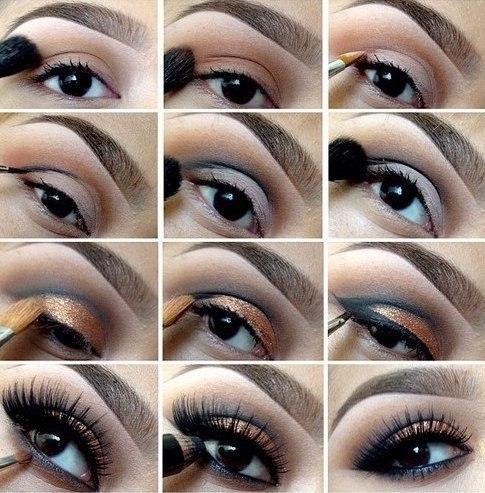 макияж чтобы глаза казались
