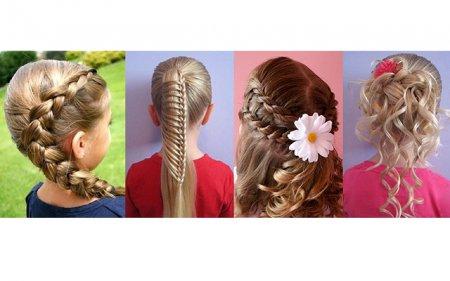 Кращі зачіски на 1 вересня