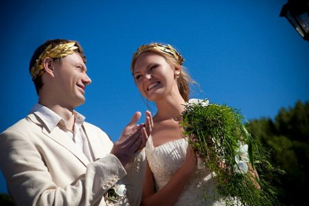 Как подготовиться к свадьбе в греческом стиле?