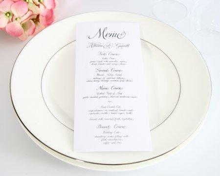 Як правильно скласти меню на весілля