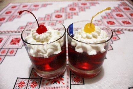 Десерт желе с фруктами рецепт с фото