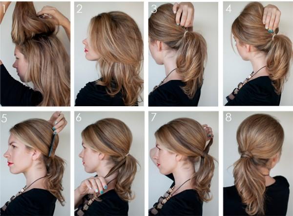 как сделать причёску на новый год за 5 минут: