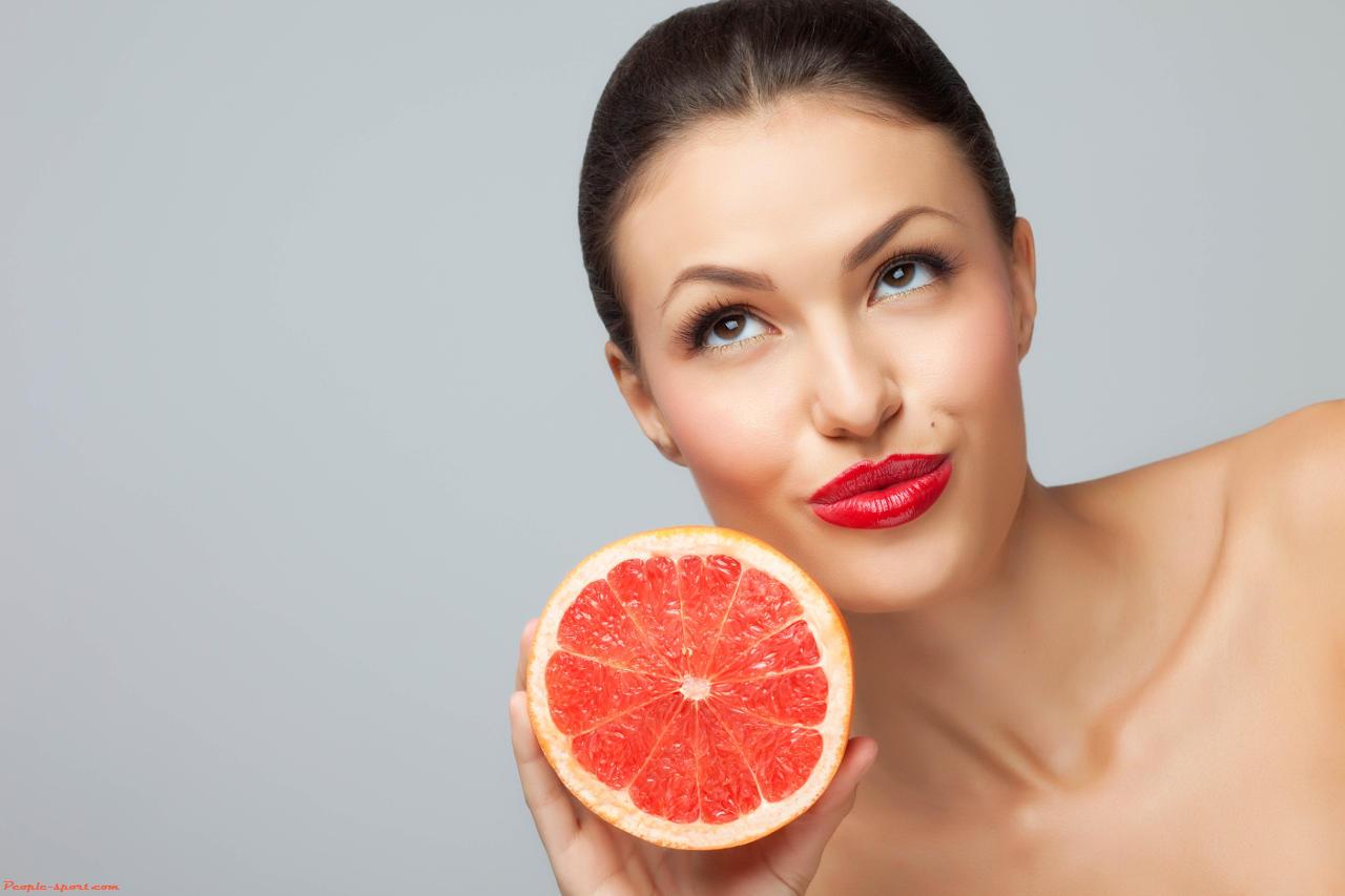 Как сбросить лишний вес. Грейпфрутовая диета минус 10 кг.
