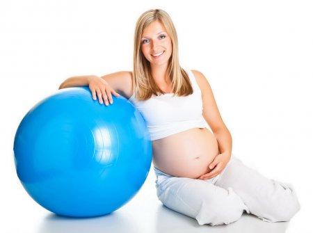 Готовимся к легким родам! Гимнастика: фитнес для беременных