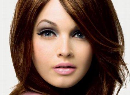 Як зробити макіяж для круглого обличчя: 3 простих кроки