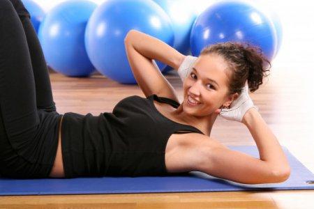 упражнения чтобы убрать жир с низа живота