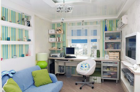 Цікаві ідеї інтер'єру підліткової кімнати від дизайнера
