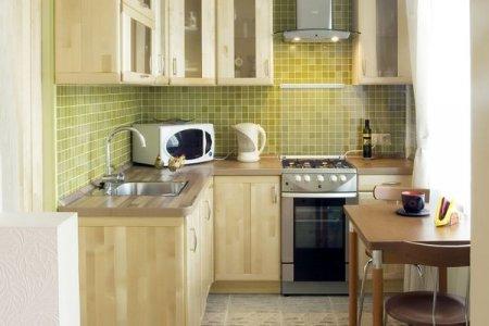 Інтер'єр маленької кухні