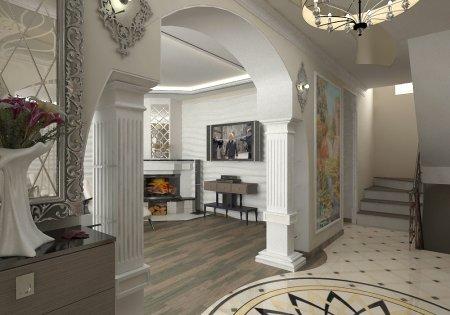 Дизайн интерьера арки