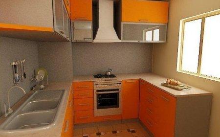 Дизайн інтер'єру кухні 6 кв м