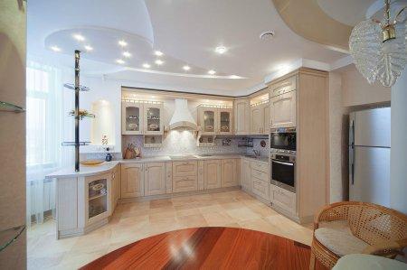 Интерьерное освещение: свет в окошке кухни