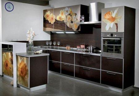 Інтер'єр кухні: дизайнерські рішення родом з Фракфурту.