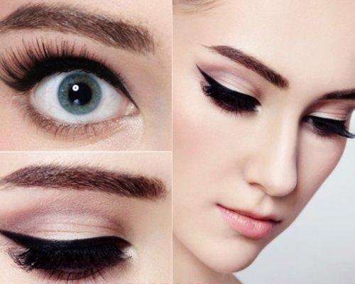 Как сделать вечерний макияж для брюнетки - Женский журнал ХОЧУ 78