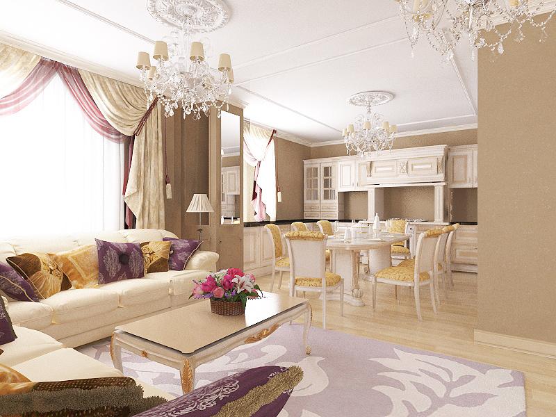 классический дизайн квартир фото