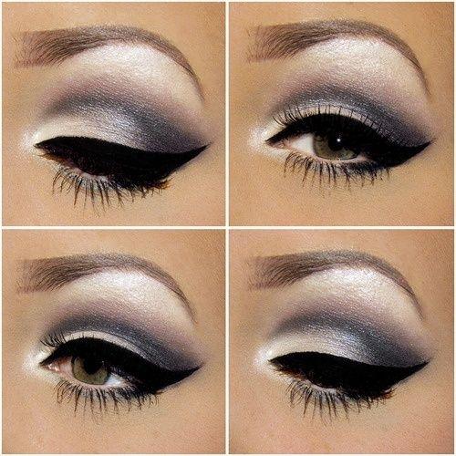 Easy eye makeup for hazel eyes