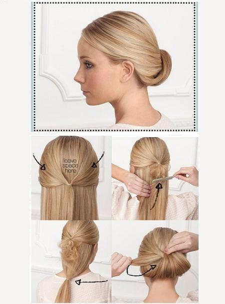Повседневные прически для длинных волос своими руками фото
