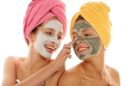маски для тела в бане