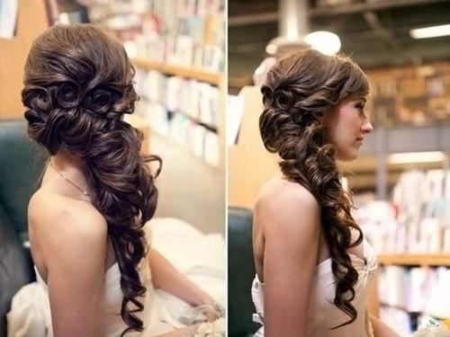 прически для длинных волос. фото