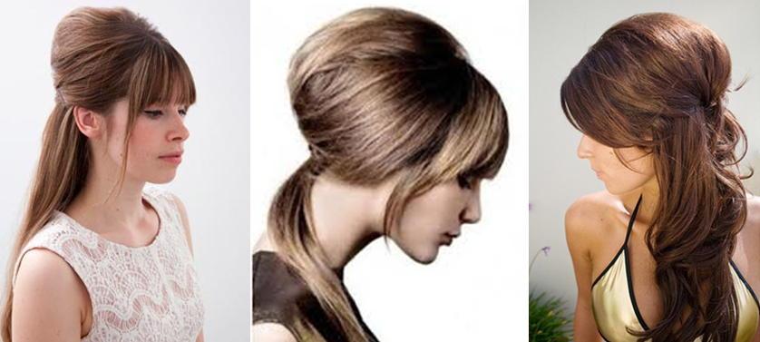 Начес на средние волосы в домашних условиях видео