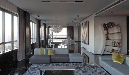 Интерьер квартир модерн