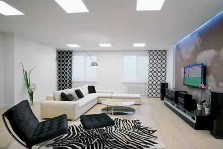 Изящная функциональность: интерьер трехкомнатной квартиры 86 кв