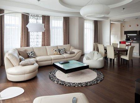 Интерьер квартиры для большой семьи
