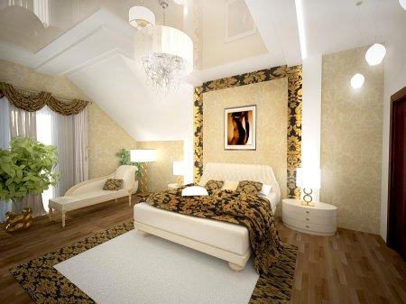 Интерьер частного дома в современном классическом стиле