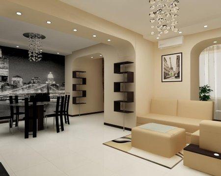 Інтер'єр 4 х кімнатної квартири фото: новий алгоритм життя
