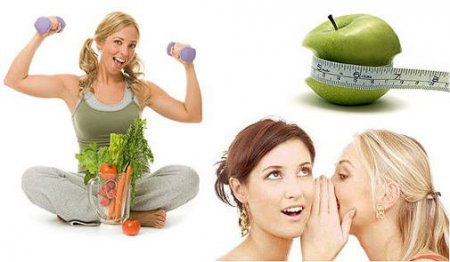 Лучшая диета для похудения боков и живота