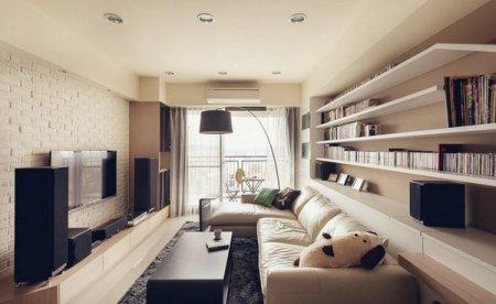 Як краще оформити інтер'єр вузької кімнати: 3 професійних ради