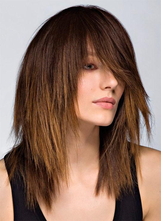 Стрижка видео на средние волосы