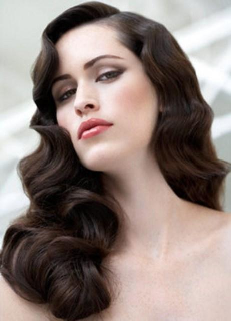 прическа волнами на длинные волосы