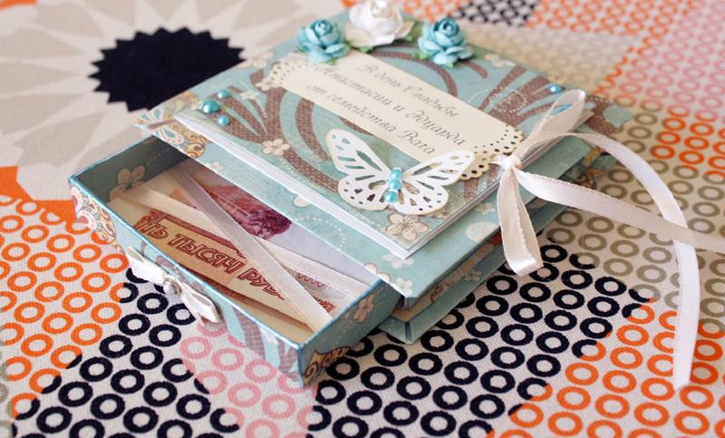 Идеи оформления свадебного подарка в виде денег 15