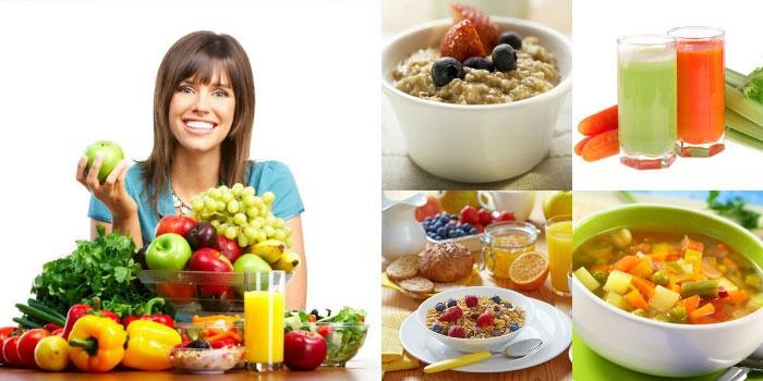 рацион питания правильного для похудения женщин