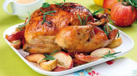 Вторые блюда из куриного мяса