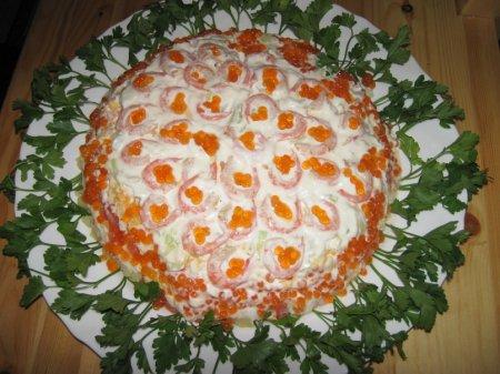 Кулінарія. Салати на день народження