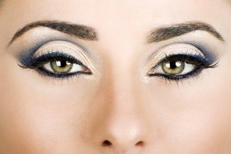 Кращий макіяж для зелених очей + фото