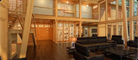 Дизайн інтер'єру заміських будинків