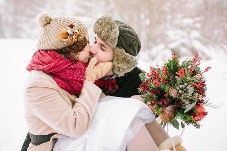 Нареченій На замітку: як одягтися на весілля взимку
