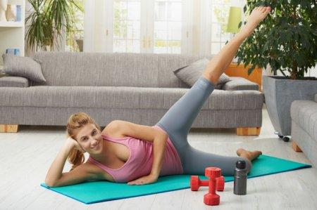 Домашний фитнес для женщин: ТОП-6 упражнений