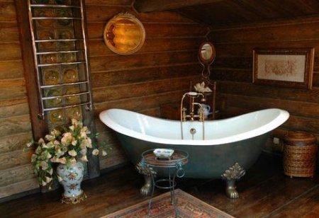 Ванна кімната в стилі ретро