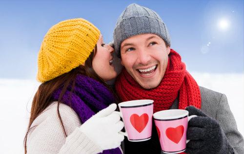 Картинки встреча влюбленных зимой